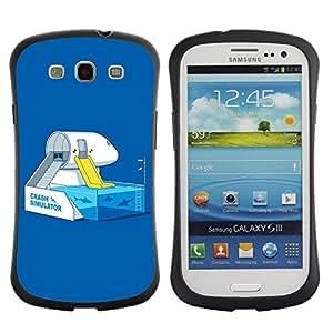 Hybrid Anti-Shock Bumper Case for Samsung Galaxy S3 / Shark Tank