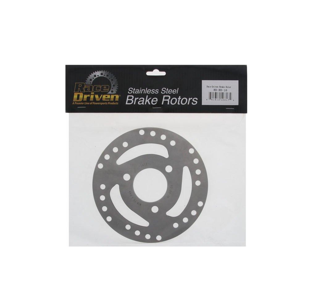 Rear Brake Rotor Disc and Brake Pads fits 1998-2001 Polaris Scrambler 500 4X4