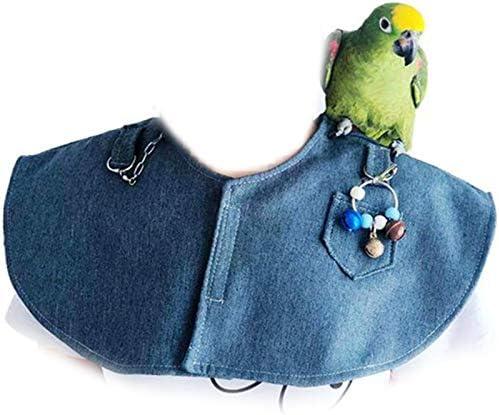 Cavis Haustier Anti-Kratzen Schulter Armschutz Papagei Schal Armschutz Set Blau