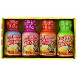 RetailSource Ass Kickin' Mini Hot Sauce Variety, 1.5 oz - 4 pc