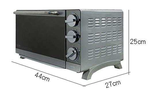 Pojrhfy Cocina Horno Horno Tostador eléctrico Horno 16L Espejo ...