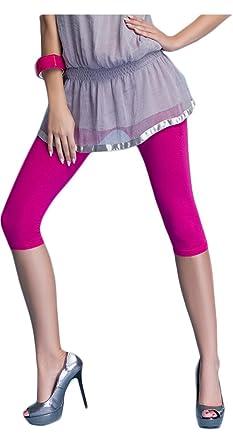 9d31efe09a0811 M.T.R. Damen Leggings 3/4 Länge Capri, Baumwolle: Amazon.de: Bekleidung