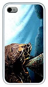 iPhone 4S CaseRising From The Depths TPU Custom iPhone 4/4S Case Cover White