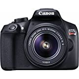 Canon EOS Rebel T6 Digital SLR Camera Kit with EF-S 18-55mm f/3.5-5.6 IS II Lens, Lexar 32GB 633x Memory Card, Canon Bag and Accessory Bundle