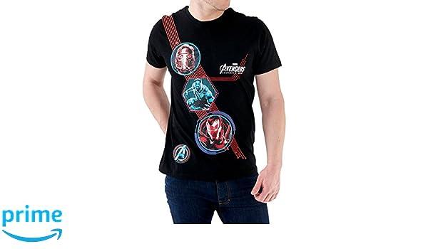 Amazon.com: Marvel Mens Avengers Infinity War T-Shirt: Clothing