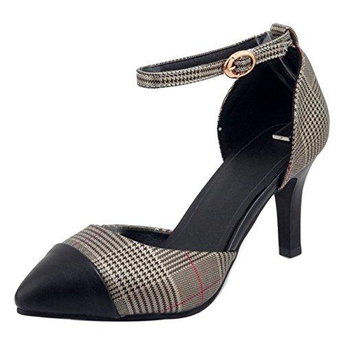 Moda Sandalias Mujer Coolcept Hebilla Heels Gold z50wTqcZ