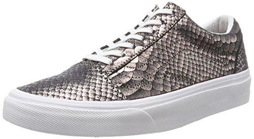 Or Snake Skool Old Vans Femme Chaussures de Taille Unique Running Metallic Bleu wPzqOfnqx