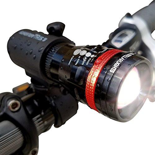StellarLights - Solid Aircraft Aluminum Bike Light - Bright