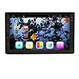Android 5.1 Lollipop Quad Core Double 2 Din Car Stereo Touch Screen in Dash GPS Head Unit Car Radio Receiver with Navigation Support Bluetooth/subwoofer/rear camera support/wifi/1080p