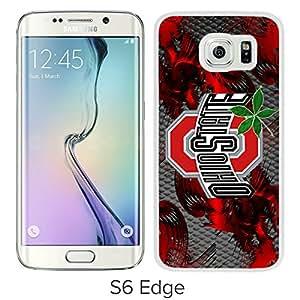 Ncaa Ohio State Buckeyes 30 White Popular Custom Design Samsung Galaxy S6 Edge G9250 Phone Case