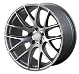 vw rims 18 - Miro Type 111 18x8.5 +45 5x112 Concave Silver Machined Face Wheel