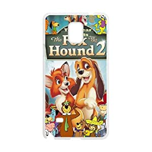 Samsung Galaxy Note 4 Cell Phone Case White Fox and the Hound 2 ESA Cell Phone Case Design Custom
