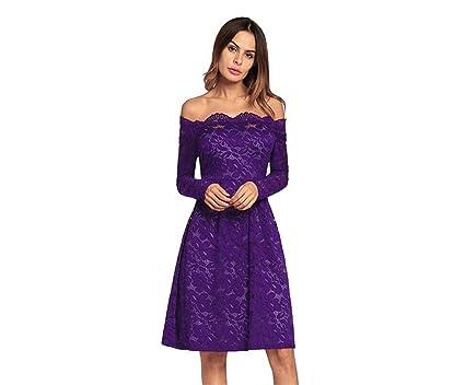 aebf54d2e1cb Woman Dress Purple Dress Lace Cute Design Cocktail Party Dress Formal Woman  Dresses