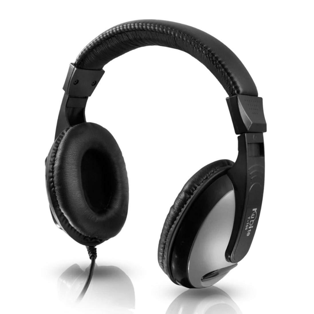 Cebbay Liquidació n ¡ Venta Caliente! Gaming Headset USB 3.5mm LED con micró fono para Auriculares con Diadema para PC (Blanco)
