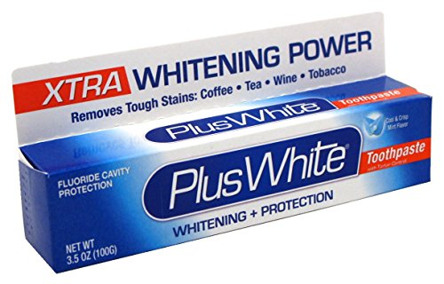 Plus White Toothpaste Xtra Whitening Mint Paste 3.5 Ounce (103ml)