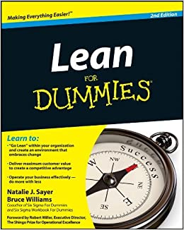 Lean for Dummies (For Dummies (Business & Personal Finance)) by Natalie J. Sayer (16-Mar-2012)
