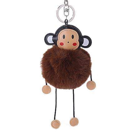 Shangwelluk Decoración para Coche Mono de Dibujos Animados ...