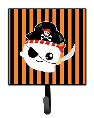 (Caroline's Treasures Halloween Ghost Pirate Wall Hook Small Multicolor)