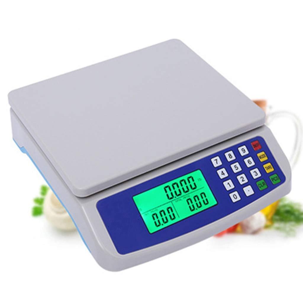 Color : White, Size : 10kg//0.5g WCX Portable Balance /Électronique Plastique ABS Balance Num/érique Haute Pr/écision Affichage LED Haute D/éfinition pour Magasin Cuisine Restaurant Nourriture