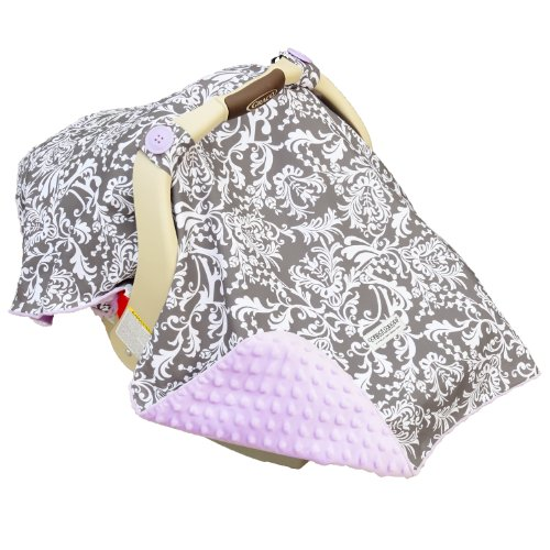 Mother's Lounge 5 Piece Carseat Canopy Whole Caboodle, Belle ()