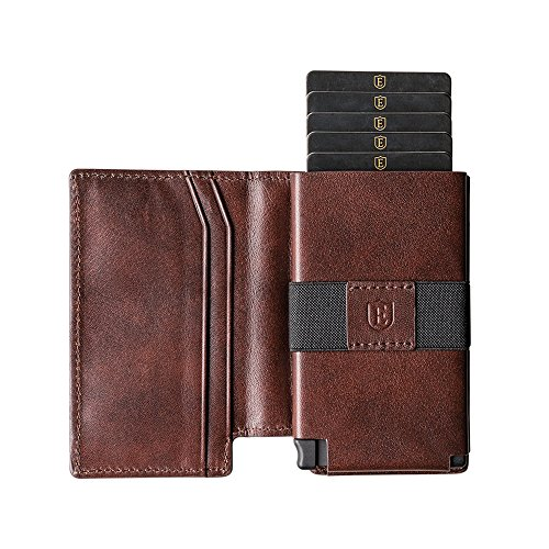 Ekster Parliament Slim Leather Wallet- RFID Blocking- Quick Card Access by Ekster (Image #1)