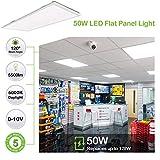 Hykolity 2x4 FT LED Flat Panel Troffer Light, 50W
