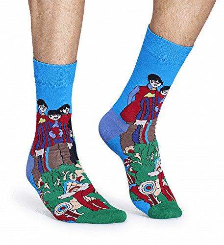 Happy Socks The Beatles Limited Edition Unisex Pepperland Socks (Blue Multi, 10-13) by Happy Socks (Image #2)
