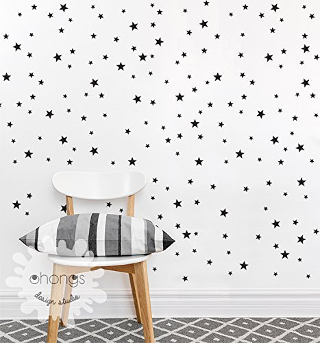 A Star In The Room / Star Wall Decal / Mini Size And Custom Color Star Part 68