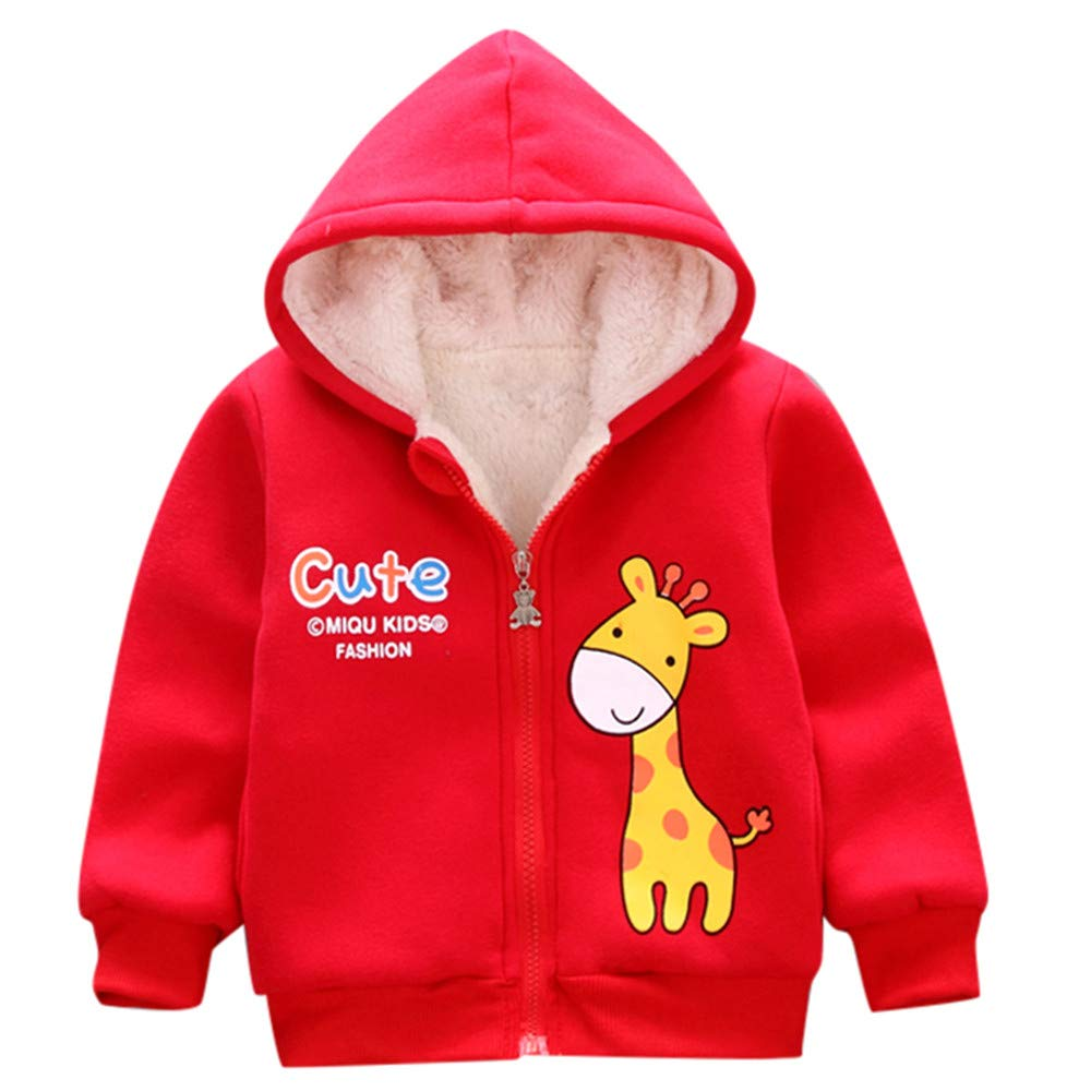 Lavany Baby Clothes Boys Girls Winter Cute Animal Coat Hooded Jacket Thick Outerwear
