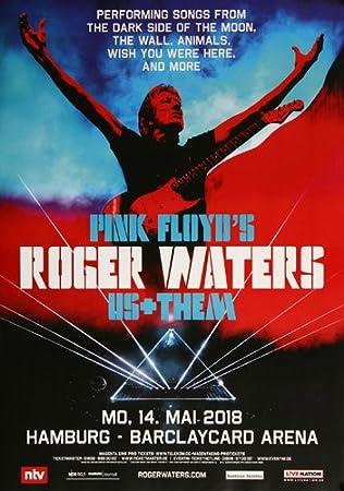 Roger Waters Hamburg 2018 Original Concert Poster Konzert
