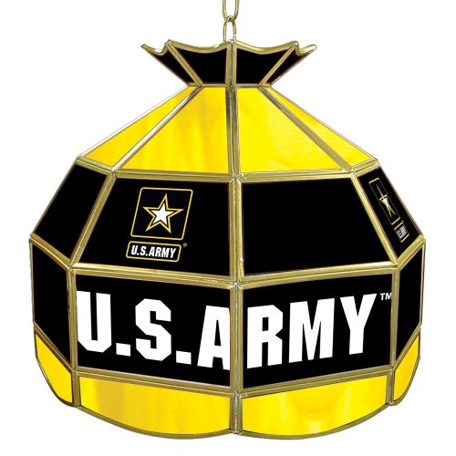 United States Army Tiffany Gameroom Lamp, 16
