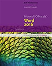 New Perspectives Microsoft®Office 365 & Word® 2016: Comprehensive