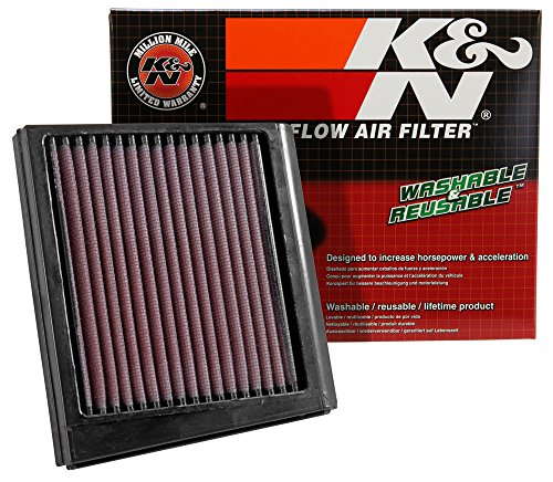 KA-0009 K&N Replacement Air Filter Compatible with KAWASAKI KLR600 88-93 (Powersports Air Filters):