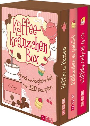 Kaffeekränzchen-Box: Rundum-Sorglos-Paket mit 320 Rezepten