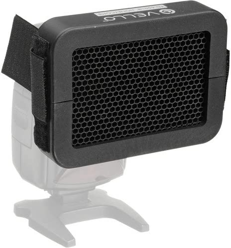 4 Pack Vello 1//8 Honeycomb Grid for Portable Flash