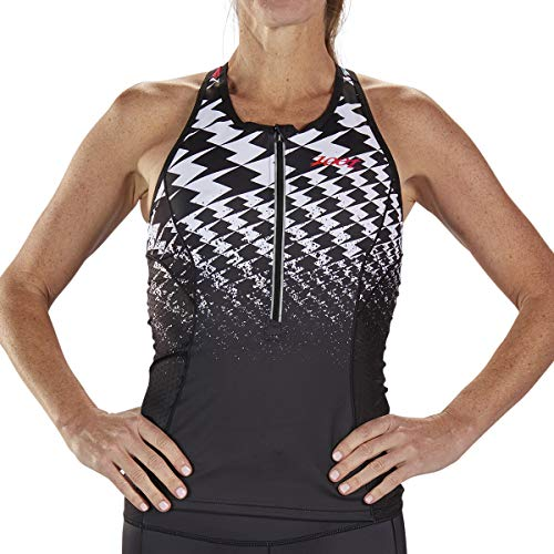 Zoot Women's Ultra Racerback Tri Tank - High Performance Triathlon Top (Ultra '19, Large) (Triathlon Bra Top)