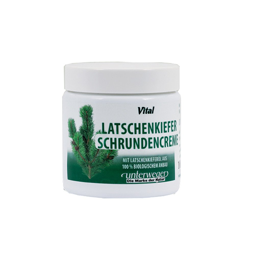 Unterweger mountain Pine Cracked Feet creme 100 ml con puro olio di pino montagna tirolese