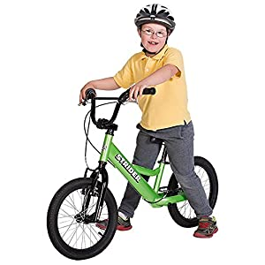Strider - Youth 16 Sport No-Pedal Balance Bike, Ages 6 to 10 Years, Green