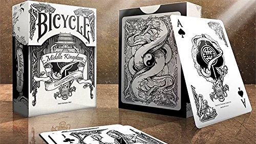 Bicycle Middle Kingdom (White) Playing Cards by Skilled Analytics & Printed by US Playing Card Co