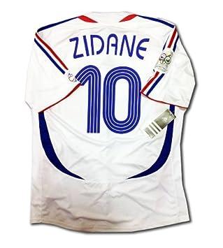 50aba243468 France Away Final World Cup 2006 Football Shirt rare retro soccer jersey 10  Zidane S M L XL