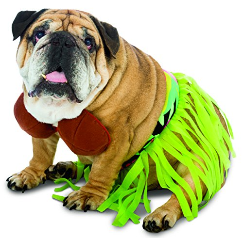 Dog Hula Costume (Rasta Imposta Hula Dog Costume, X-Large)