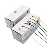 CBAZY™ Hook up Wire Kit (Stranded Wire Kit) 18 Gauge Flexible Silicone rubber Electric wire 6 colors 16.4 feet Each 18 AWG