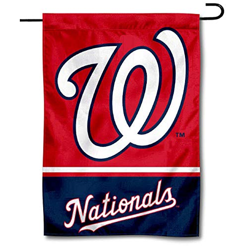 (WinCraft Washington Nationals Double Sided Garden)