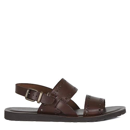 Sandals Men's Brown 7158017 BraAmazon Ga co Leather ukShoesamp; Bags TlKJ1c3F