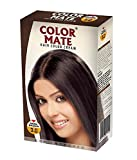 Color Mate New Improved Hair color (Pack of 2) with Ayur Product in Combo (3.0-Dark Brown) (2.0- Natural Black)