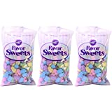 Wilton Favor Sweets Baby Feet , 13 Ounce, (Pack of 3)