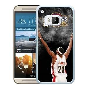 Cleveland Cavaliers Lebron James 3 White HTC ONE M9 Case Sale Online