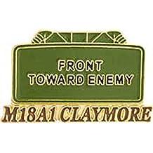 "Claymore Mine Pin 1"""