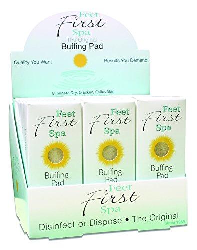 Feet First Spa Buffing Pad - 24 - Spa Pad Foot