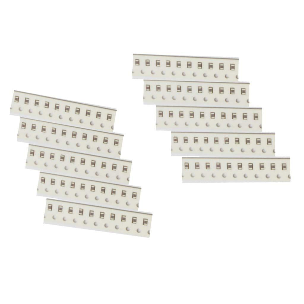 FLAMEER 100PCS 0805 105K 25V 1UF 22NF 10/% SMD Ceramic Capacitor Kit
